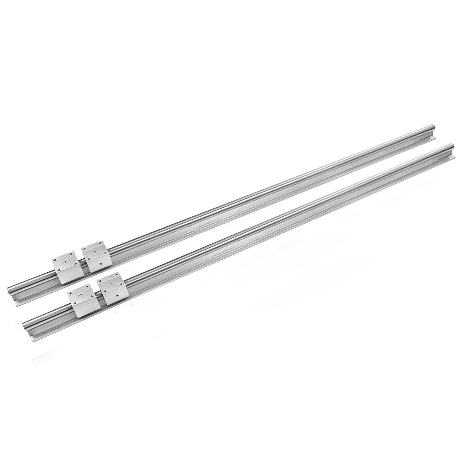 2Pcs-SBR20-1200mm-Linear-Slide-Guide-Shaft-Rail-4Pcs-SBR20UU-Bearing-Block-CNC thumbnail 4