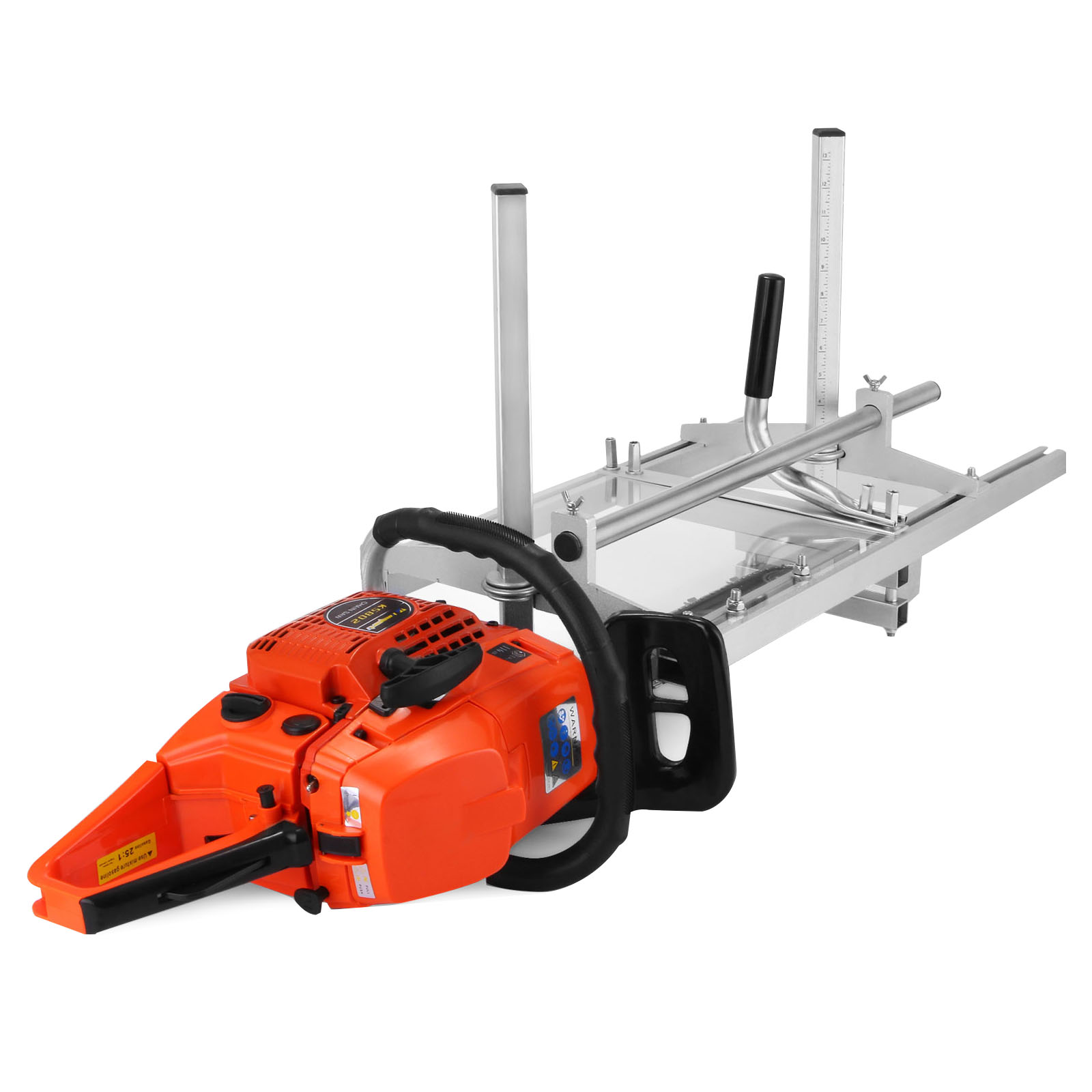 new portable chainsaw mill log planking lumber cutting 14\