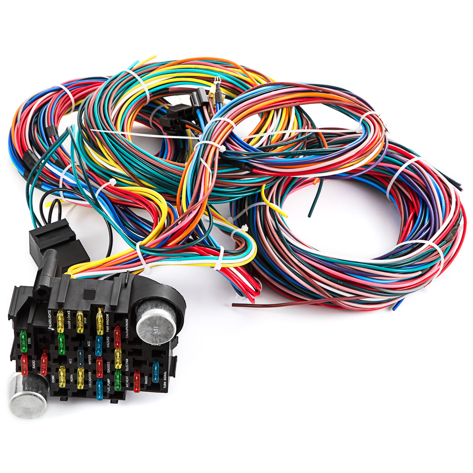 Wiring Harness Extra Wires Diagrams Schematics Universal Connector Plugs 21 Circuit Ez Chevy Mopar Ford Hotrods X Rh Ebay Com 4 Plug