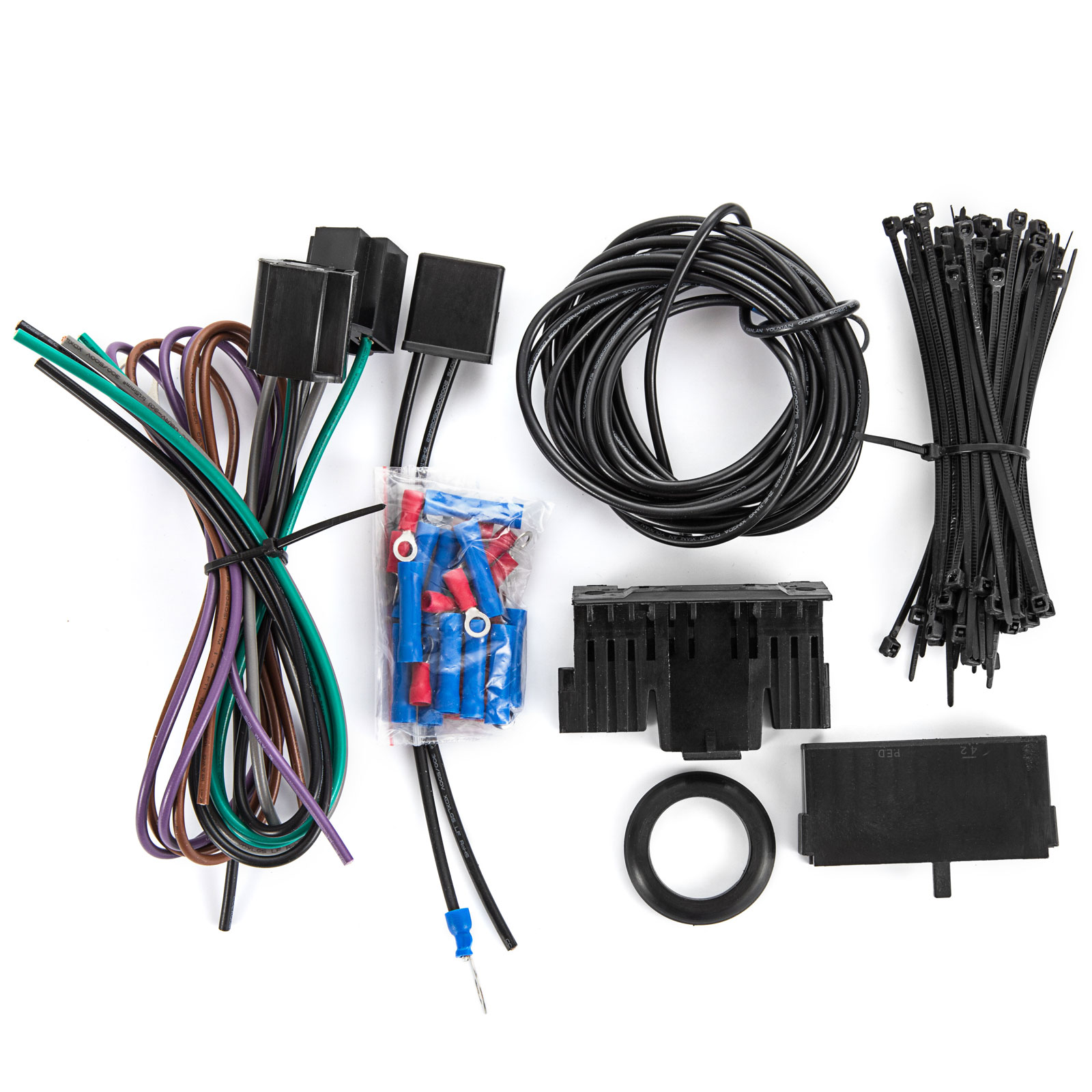 21 Circuit Wiring Harness Fit CHEVY Mopar FORD Hotrods UNIVERSAL Extra Wire