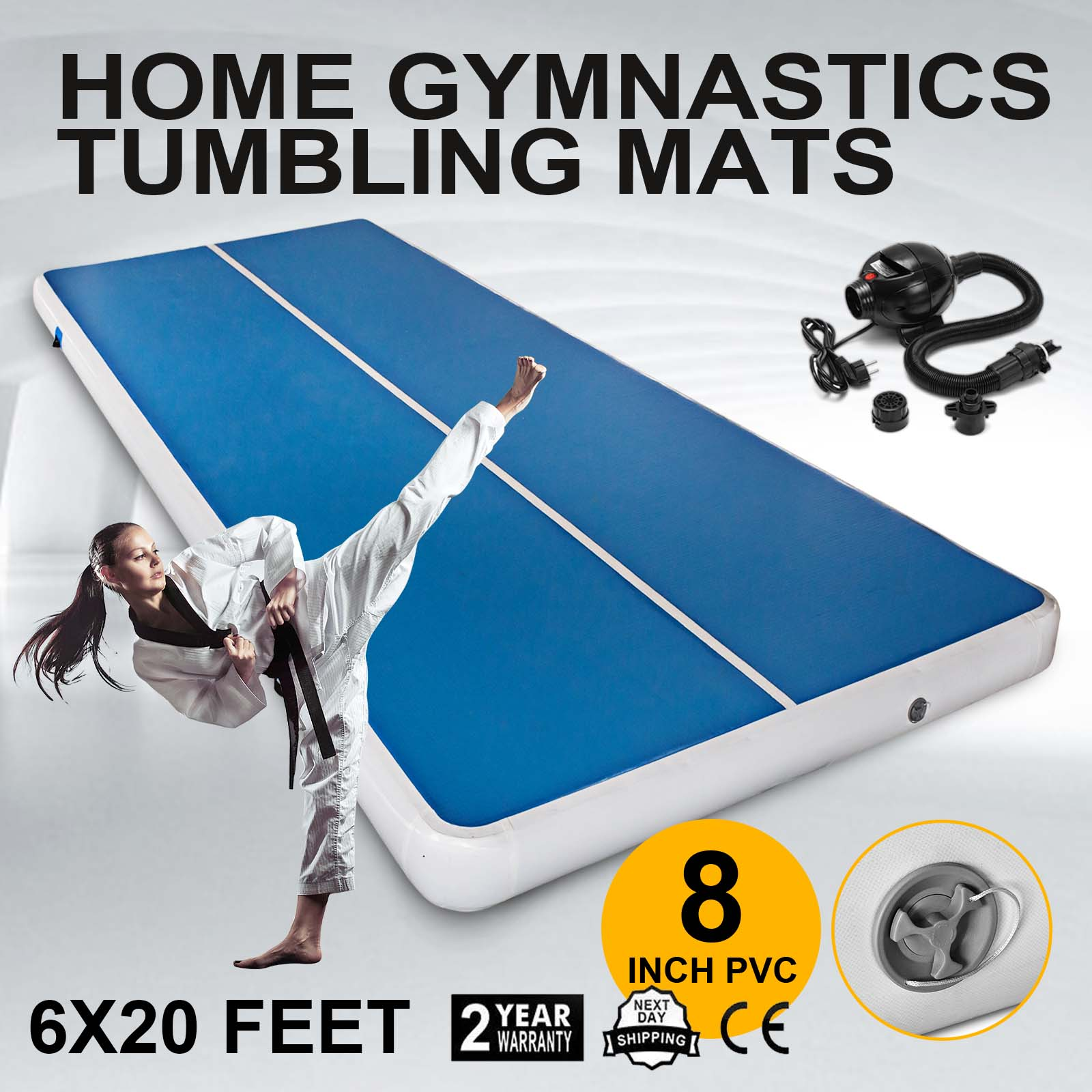 gymnastics cheap genechy for ireland home info ebay mats tumbling amazon mat