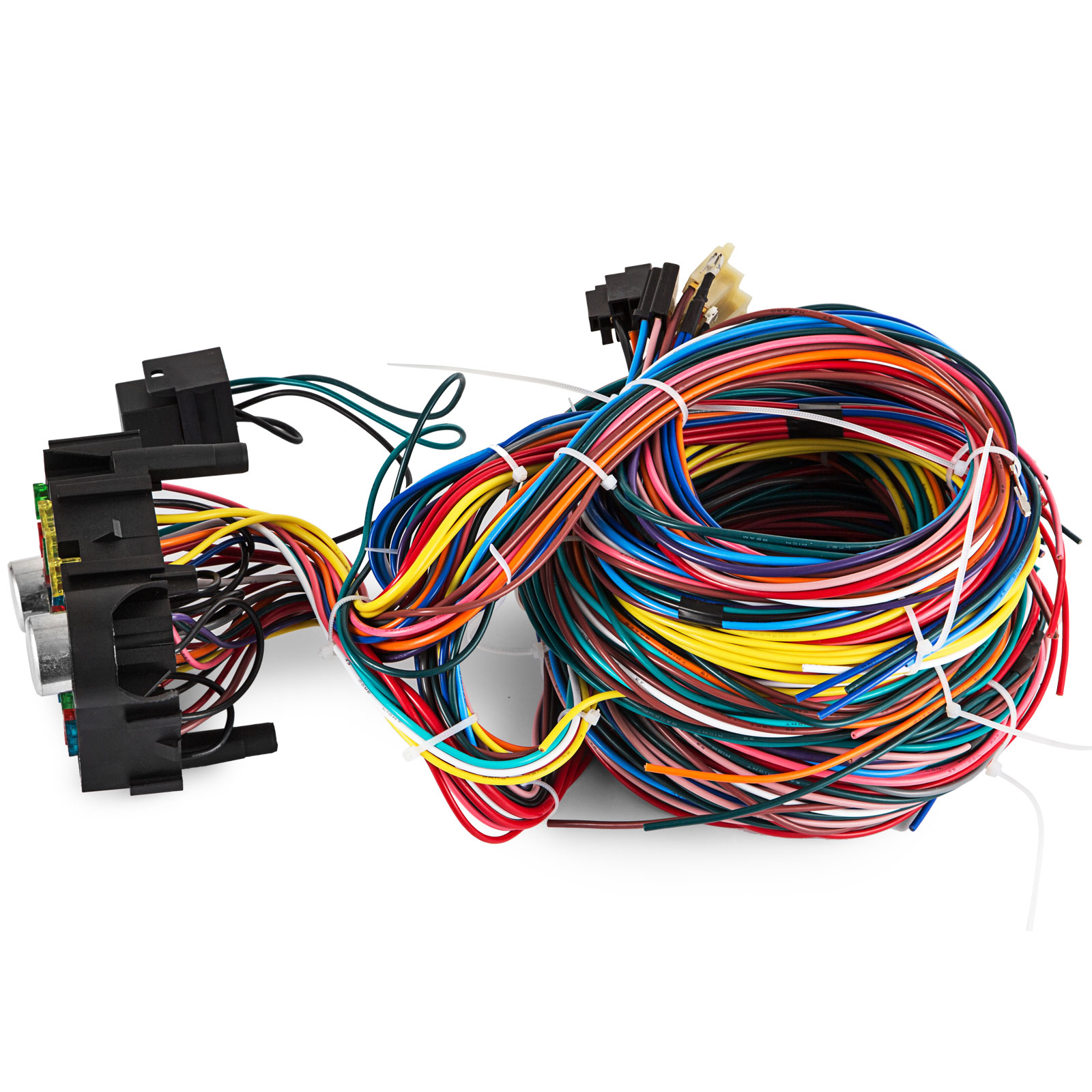 21 Circuit Wiring Harness Chevy Mopar Ford Hot Rods Universal Wire Pictures