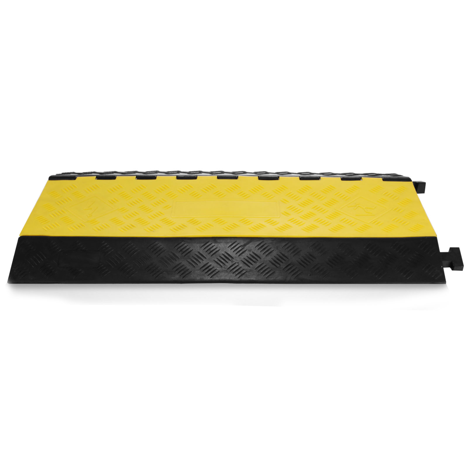 5-Cable Rubber Warehouse Safety Electrical Vehicle Wire Covers Ramp ...